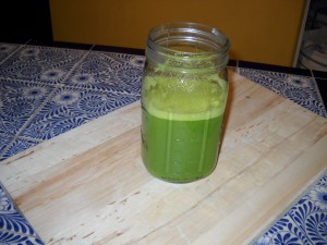 Brussels sprout juice