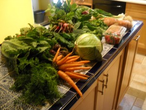 Produce from my CSA