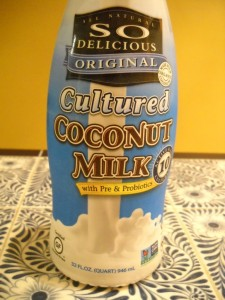 cultured coconut milk